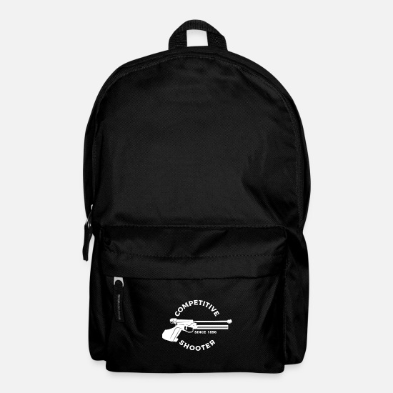 Gift Idea Bags & Backpacks - competition shooting - Backpack black