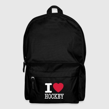 i love hockey / I heart hockey - Rugzak
