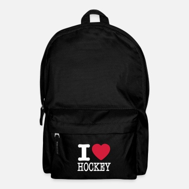 Hockey i love hockey / I heart hockey - Rugzak