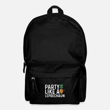 Green Beer Party Like A Leprachaun - St. Patrick's Day - Backpack