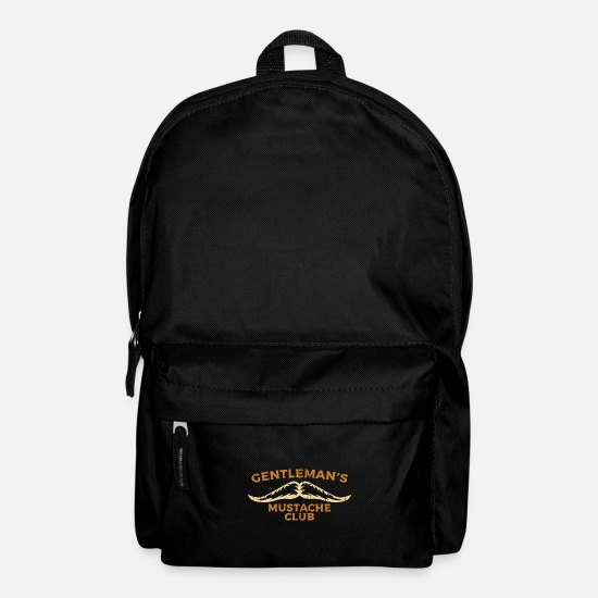 Gift Idea Bags & Backpacks - Beard and mustache club - Backpack black
