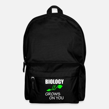 Organic Lk Biology - it grows on you - Backpack