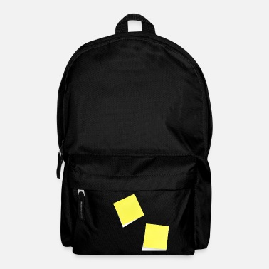 Note Clue yellow sticky note, sticky note, sticky note - Backpack