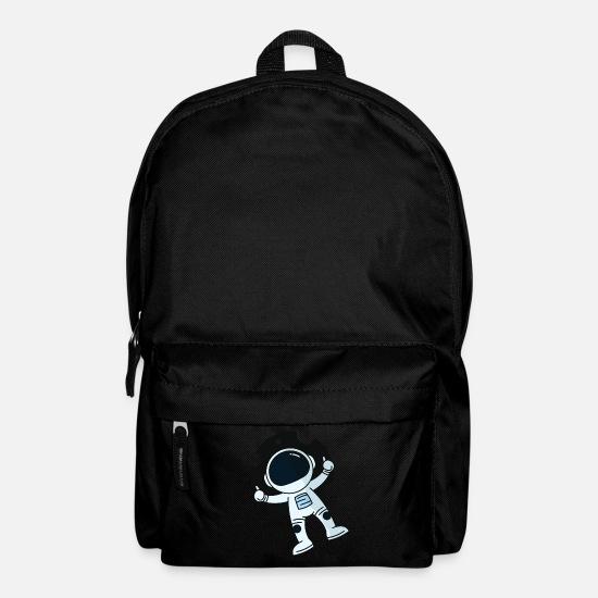 Lewitujący astronauta Plecak czarny