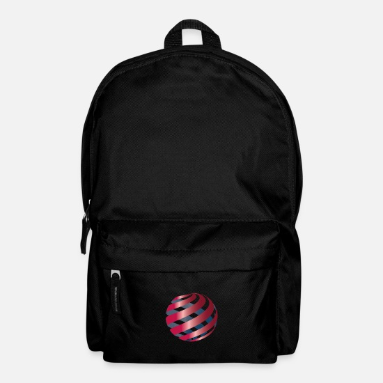 Espresso Bags & Backpacks - 3d sphere - Backpack black