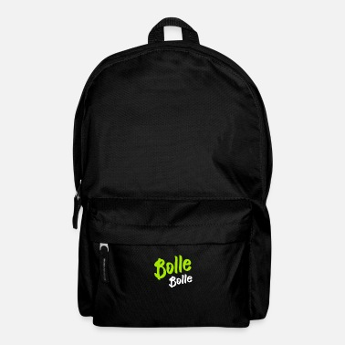 Boll Bolle Bolle T-Shirt funny funny - Backpack
