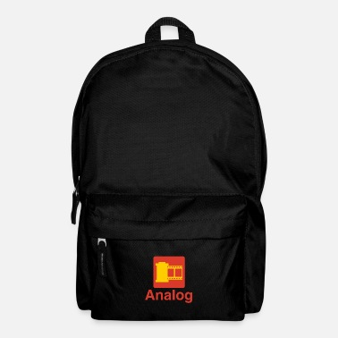 Analogue ANALOGUE - PHOTOGRAPHY - TRIBUTE T-SHIRT - GIFT - Backpack