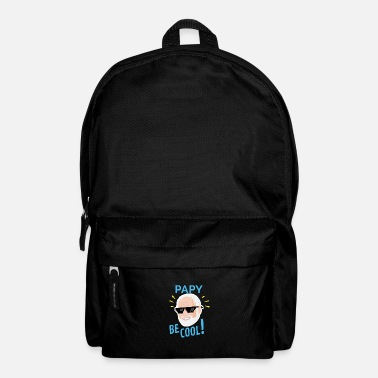 Design Papy Be Cool Birthday Party Gift Idea - Backpack