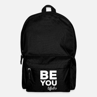 Inspiration Be-You-Tiful Positive Quote - Sac à dos