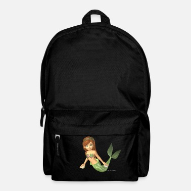 Mermaid Meejungfrau - Mermaid - Rucksack