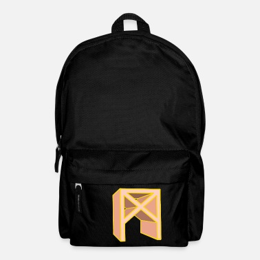 Asgard Rune Mannaz in Living Coral - Backpack