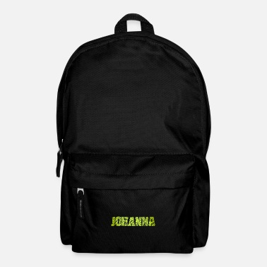 First Name Johanna first name name - Backpack
