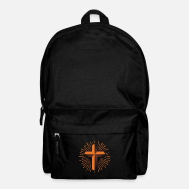 Christian Christian cross, christianity religion - Backpack
