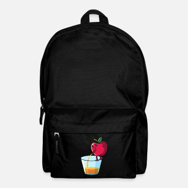 Apple Juice Peeing apple, fruit fruit apple juice - Backpack
