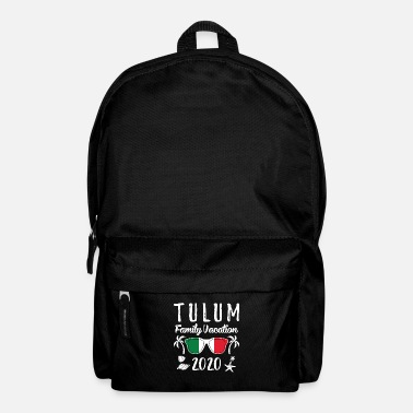 Match Group Family Vacation Tulum 2020 print - Backpack