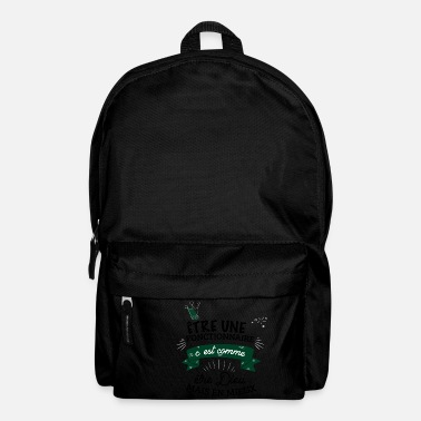 Official Person Official god better - Backpack