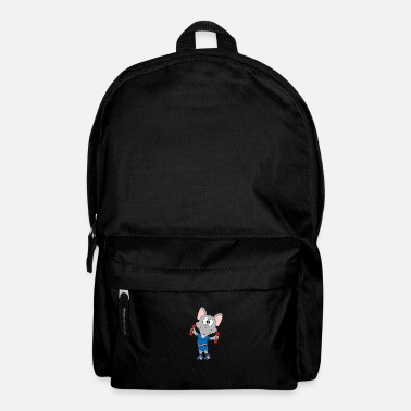 Cupid Funny rat - advice - fitness - sport - animal - Backpack
