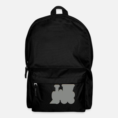Locomotive Steam locomotive, locomotive - Backpack