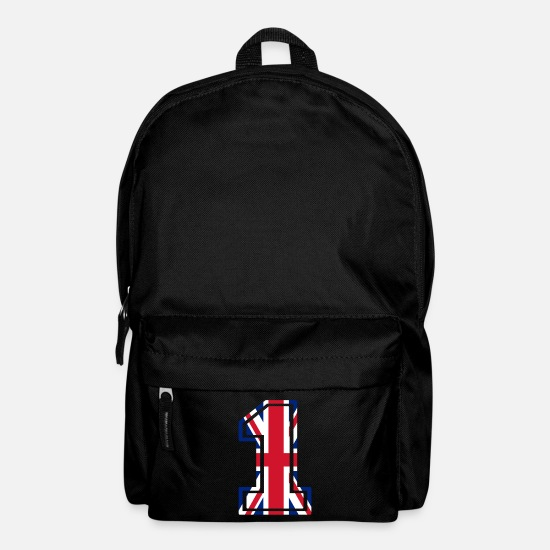 Family Crest Bags & Backpacks - United Kingdom nr one - Backpack black