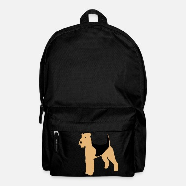 Clipart Airedale Terrier Clipart - Rucksack