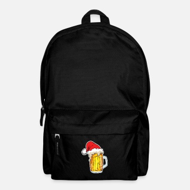 Officialbrands God jul Beer Spirit Santa Hat Festival - Ryggsekk