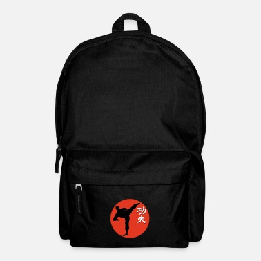 Red red kungfu fighter - Mochila