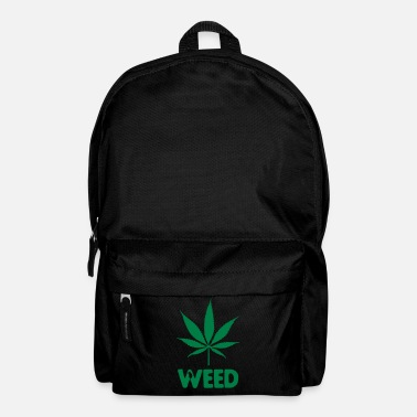 Cannabis weed with leaf - Mochila