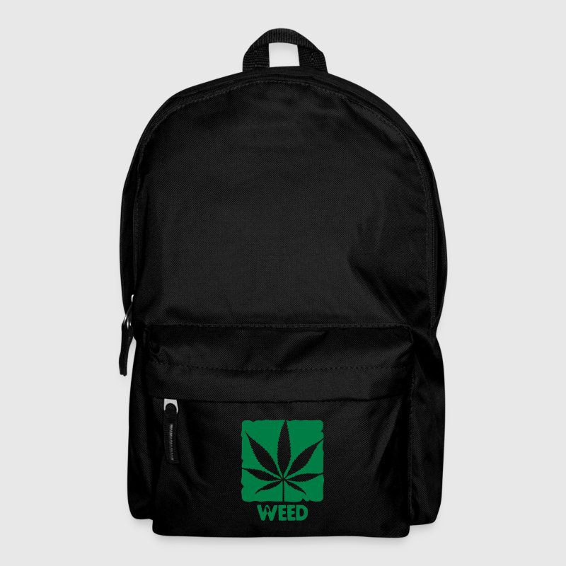 weed with boxed leaf - Rucksack