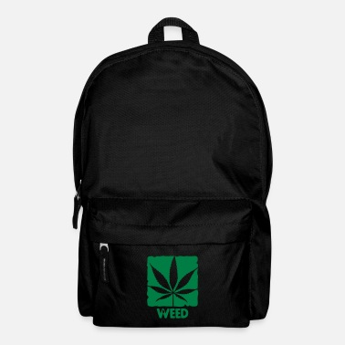 Trance weed with boxed leaf - Mochila