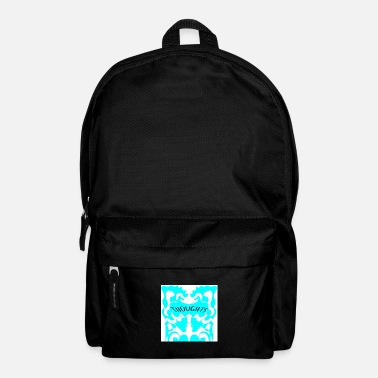 Abstrakt Thoughts Line Art Tatttoo - Rucksack