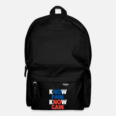 Basketball Know Pain Know Gain - Backpack