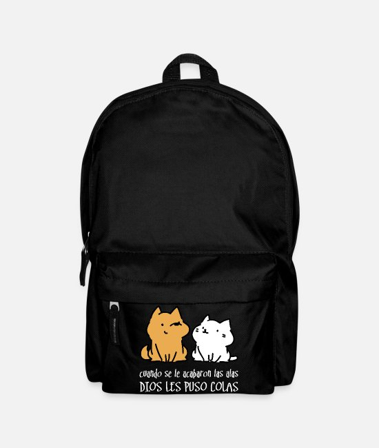 Cola Bags & Backpacks - Dios les puso colas (oscura) - Backpack black
