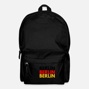 Berlin BERLIN BERLIN BERLIN CAPITAL OF GERMANY - Backpack