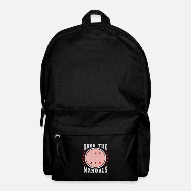Manual Save the Manuals - Backpack