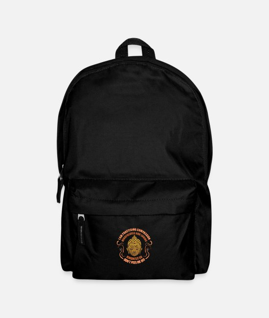 Buddhism Bags & Backpacks - Buddhism - Backpack black