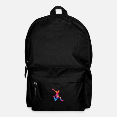 Free Running Parkour Vintage Street Jumper Running Climb Backfl - Backpack