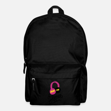 enjoy the silence - earphones music - Rucksack