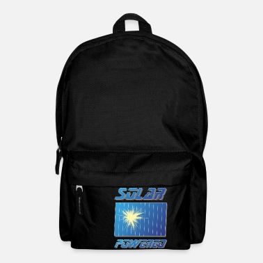 And Solar Panels For proud Solar Environmentalists Solar Panel - Backpack