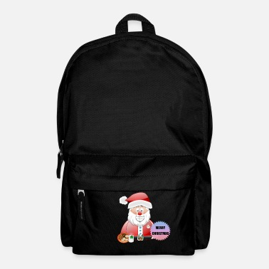Scene Underwear Santa 16 Merry Christmas - Backpack