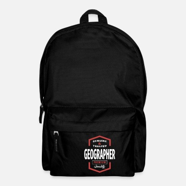 Geographic Geographer | Gift Ideas - Backpack