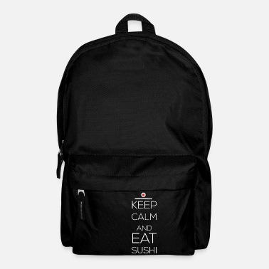 Sushi Art Sushi - Keep calm and eat sushi - Backpack