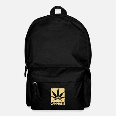 House cannabis leaf boxed - Sac à dos