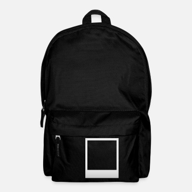 Polaroid frame with shadow - Backpack