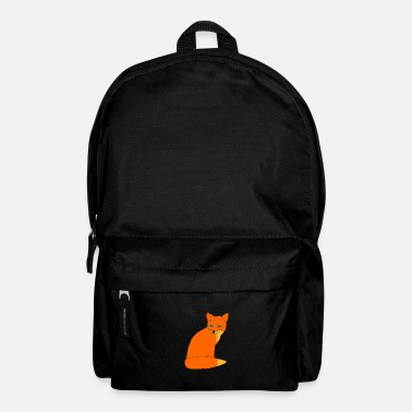 fox clever orange gift - Backpack
