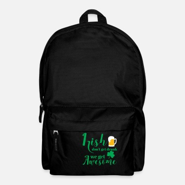 Day St Patricks Day - Irish - Beer - Funny - Gift - Backpack