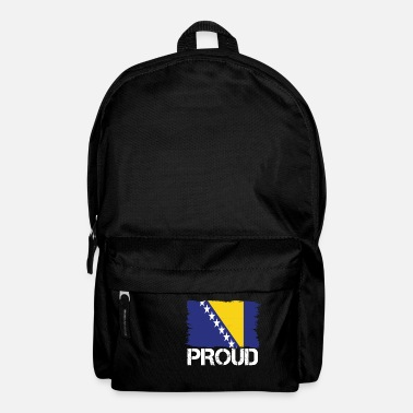 Bosnien Pride flag flag home origin Bosnia and Herzegovina - Backpack