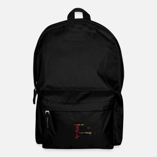 Html Bags & Backpacks - HTML - Backpack black
