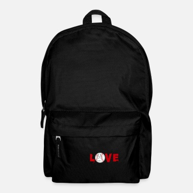 Ball Sport Baseball Love Sports Ball Shirt Ball Sports Love - Backpack