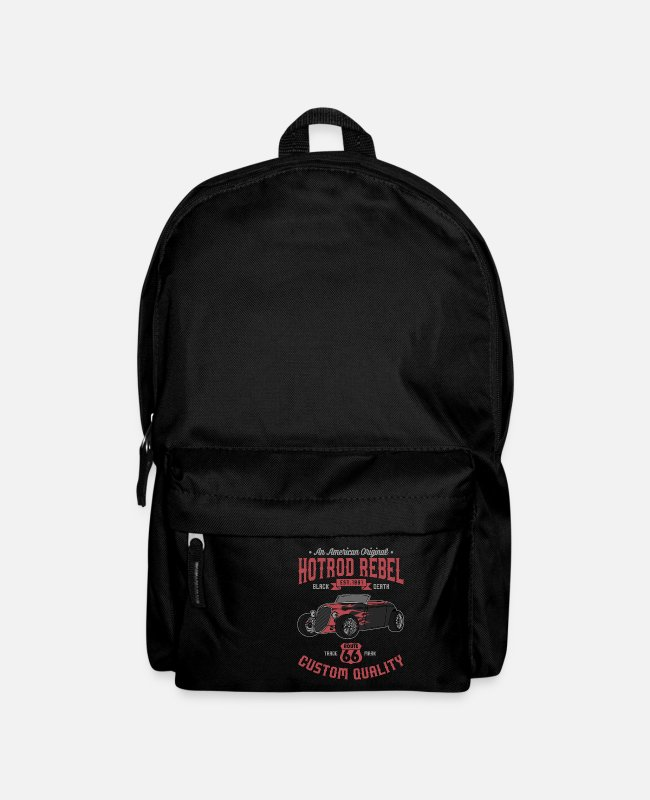 Pick Bags & Backpacks - Hot Rod T Shirts & Gift - Backpack black