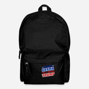 Obama Funny I survived Obama, you'll survive Trump - Backpack